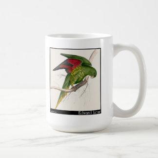 エドワード・リアのMatonのインコ コーヒーマグカップ