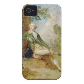 、エドワードAugustusケント、c.1787 (canvの公爵の油 Case-Mate iPhone 4 ケース