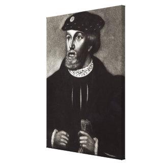 エドワードBuckinghamの第3公爵の、ポートレート キャンバスプリント