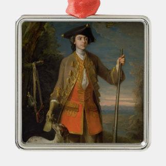 エドワードHales 1744年(キャンバスの油) メタルオーナメント