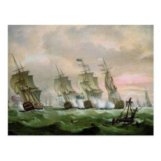 エドワードHawke海軍大将 ポストカード