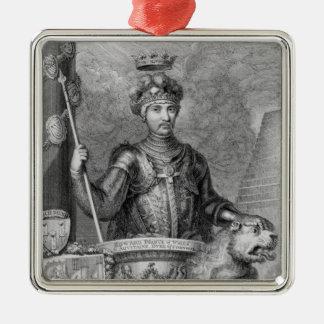 エドワードmonumeの後の黒い王子(1330-76年) メタルオーナメント