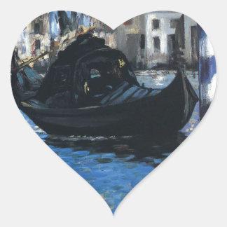 エドワール著ベニス(青いベニス)の大運河 ハートシール