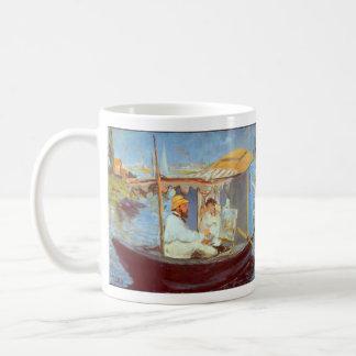 エドワールManet著クロード・モネ コーヒーマグカップ