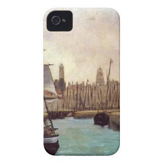 エドワールManet著ボルドーの港 Case-Mate iPhone 4 ケース
