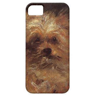 エドワールManet著犬の頭部 iPhone SE/5/5s ケース