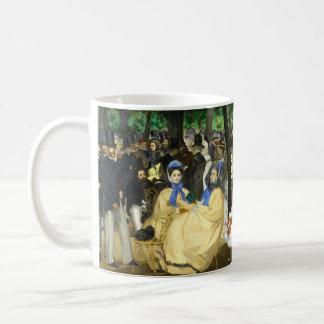 エドワールManet著Tuileriesの音楽 コーヒーマグカップ
