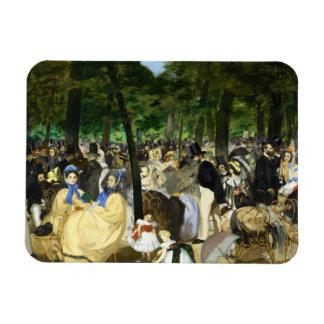 エドワールManet著Tuileriesの音楽 マグネット