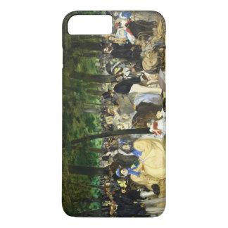 エドワールManet著Tuileriesの音楽 iPhone 8 Plus/7 Plusケース