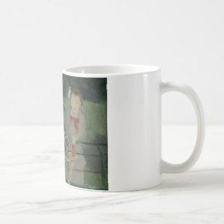 エドワールManet -エルネストHoschedéのポートレート コーヒーマグカップ