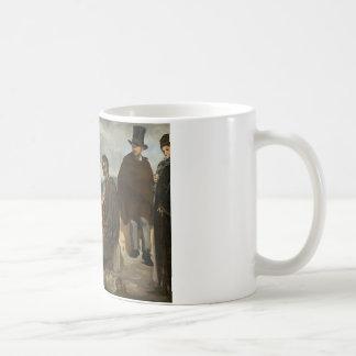 エドワールManet -古いミュージシャン コーヒーマグカップ