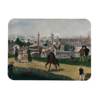 エドワールManet -普遍的な展覧会の眺め マグネット