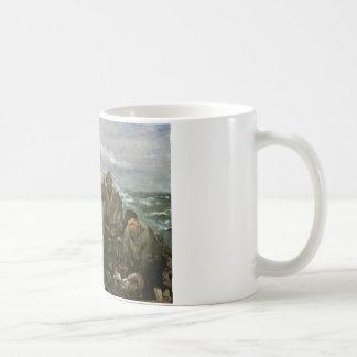 エドワールManet -海のToilers コーヒーマグカップ