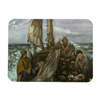 エドワールManet -海のToilers マグネット