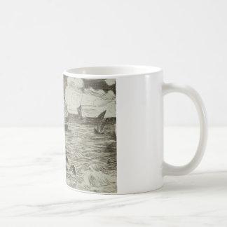 エドワールManet -海兵隊員 コーヒーマグカップ