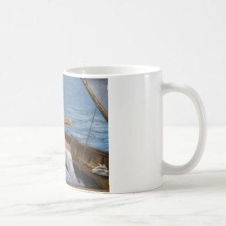 エドワールManet -船遊び コーヒーマグカップ