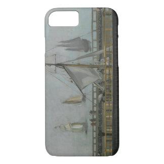 エドワールManet - Boulogne-sur-Merの突堤 iPhone 8/7ケース