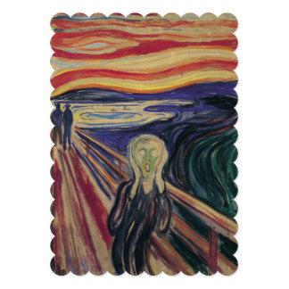 エドヴァルド・ムンクの第50記念パーティー著叫び カード