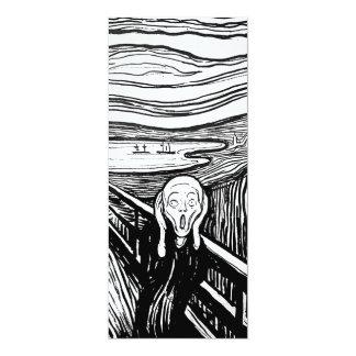 エドヴァルド・ムンク著叫び カード