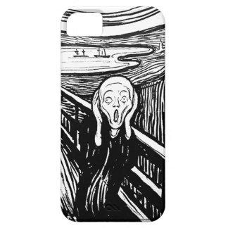 エドヴァルド・ムンク著叫び iPhone SE/5/5s ケース