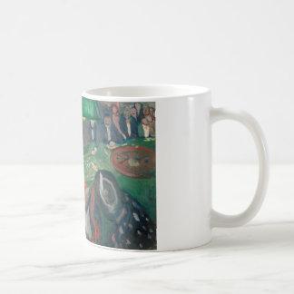 エドヴァルド・ムンク-ルーレットのテーブルの… コーヒーマグカップ