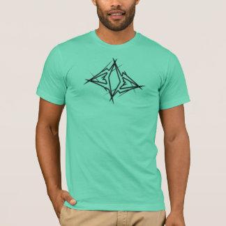 エニグマのロゴのティー Tシャツ