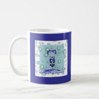 エネルギーはめい想考えられます! コーヒーマグカップ
