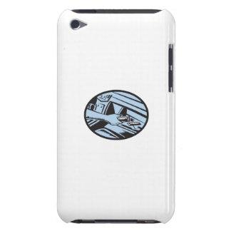 エネルギーバーの楕円形のためのグローブボックスで達する手は懇願します Case-Mate iPod TOUCH ケース