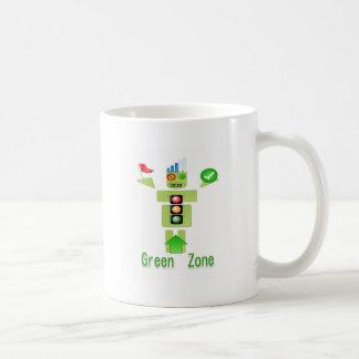 エネルギー効率が良い緑地帯ただ コーヒーマグカップ