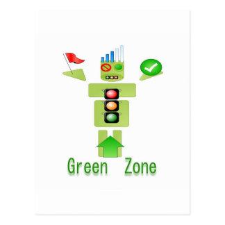エネルギー効率が良い緑地帯ただ ポストカード
