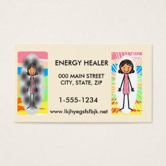 エネルギー治療師の名刺 名刺