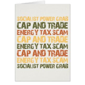 エネルギー税の詐欺 カード