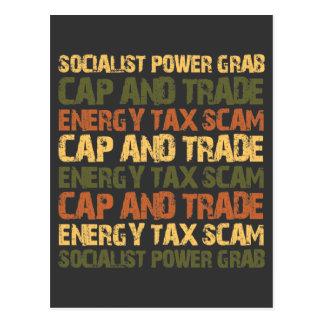エネルギー税の詐欺 ポストカード