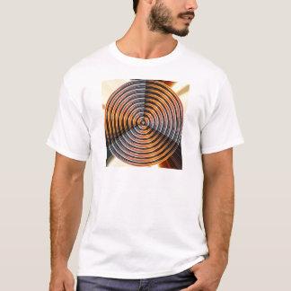エネルギー車輪: 金金属の一見 Tシャツ