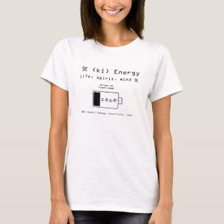 エネルギー-低い電池 Tシャツ