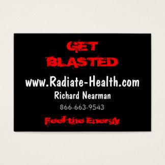 エネルギー、www.Radiate-Health.com、Richarを…感じて下さい チャビ―名刺