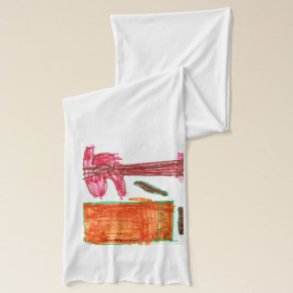 エバンは芸術家に水をまきます スカーフ