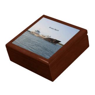 エバンズの精神の正方形の記念品箱 ギフトボックス