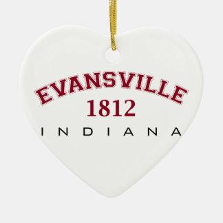 エバンズビル、内部の1812年 セラミックオーナメント