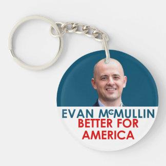 エバンMcMullin -アメリカのためによくして下さい キーホルダー