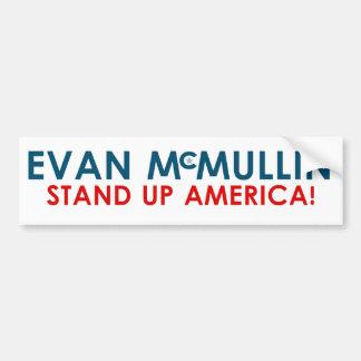 エバンMcMullin -アメリカを立てて下さい! バンパーステッカー