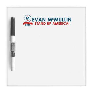 エバンMcMullin -アメリカを立てて下さい! ホワイトボード