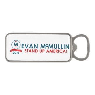 エバンMcMullin -アメリカを立てて下さい! マグネット栓抜き