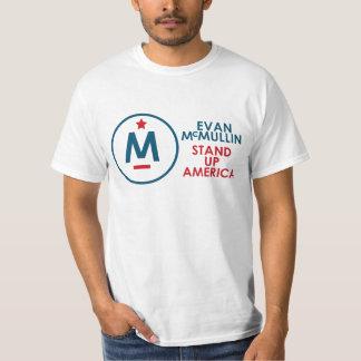 エバンMcMullin -アメリカを立てて下さい! Tシャツ