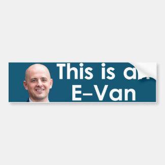 エバンMcMullin -エバン バンパーステッカー
