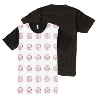 エバンMcMullin オールオーバープリントT シャツ