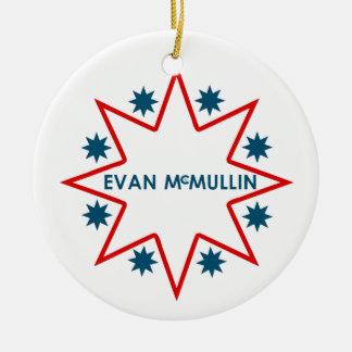 エバンMcMullin セラミックオーナメント