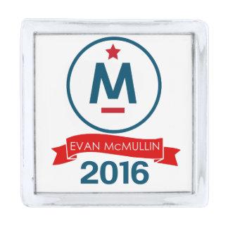 エバンMcMullin 2016年 シルバー ラペルピン