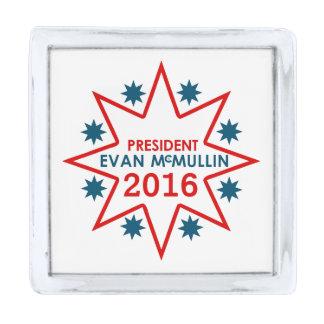 エバンMcMullin 2016年 銀色 ラペルピン
