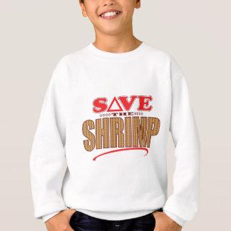 エビの保存 スウェットシャツ